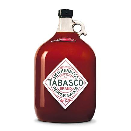 Tabasco Personalized Gallon