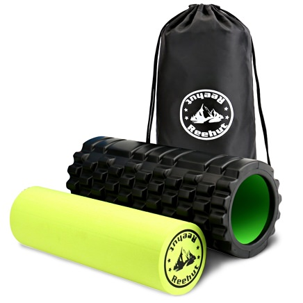 Reehut 2-in-1 Foam Roller Kit