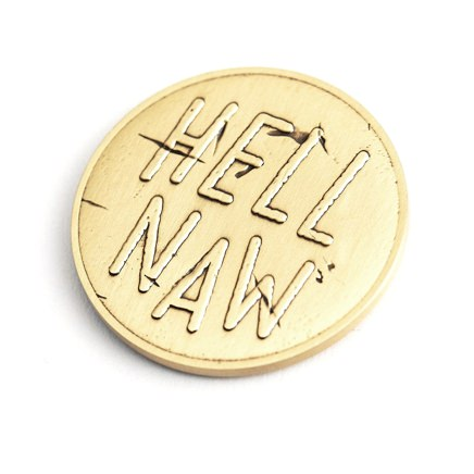 Cool Material Decision Coin