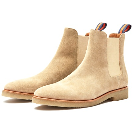 New Republic Suede Chelsea Boots