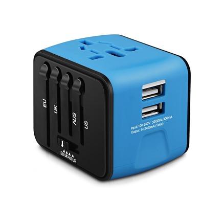 Iron-M Universal Travel Power Adapter