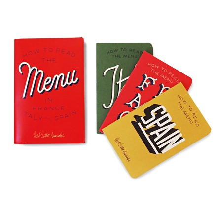 Herb Lester How to Read the Menu Books