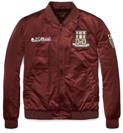 Scotch & Soda Bomber Jacket