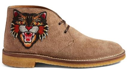 Gucci Chukka Boots