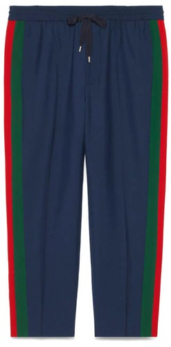 Gucci Side-Striped Pants