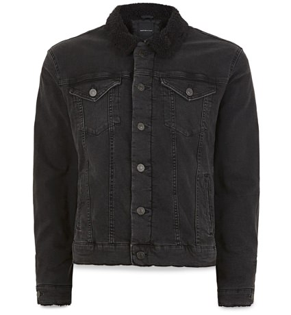 Topman Denim Trucker Jacket