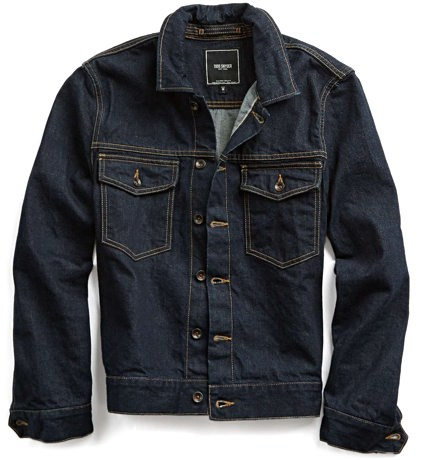 Todd Snyder Denim Trucker Jacket