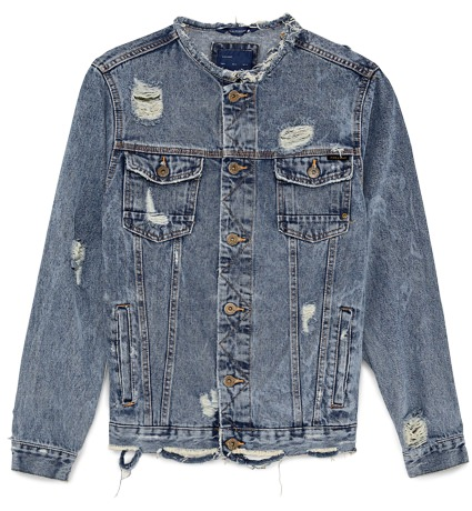 Zara Denim Trucker Jacket