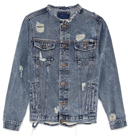 Zara Denim Trucker Jacket