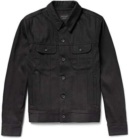 Rag & Bone Denim Trucker Jacket