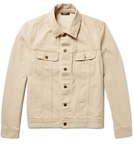 A.P.C. Denim Trucker Jacket