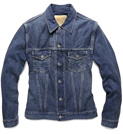 RRL Denim Trucker Jacket
