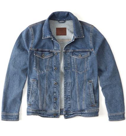 Abercrombie & Fitch Denim Trucker Jacket