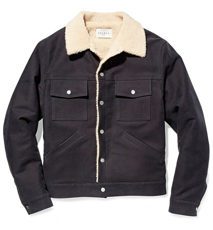 Sandro Denim Trucker Jacket