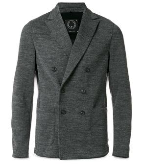 T Jacket Double-Breasted Jacket
