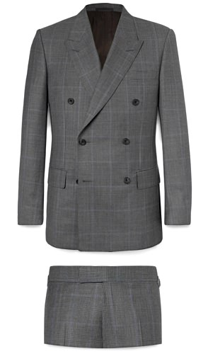Kingsman by Mr Porter Double-Breasted Suit