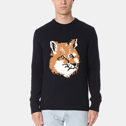 Maison Kitsune Graphic Sweater