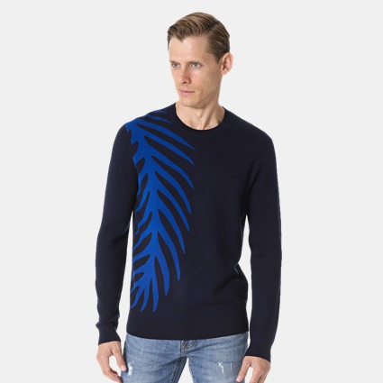 Club Monaco Graphic Sweater