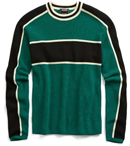 Todd Snyder Graphic Sweater
