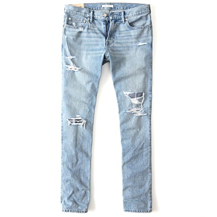 Abercombie & Fitch Lived-In Jeans