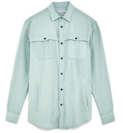 Zara Shirt Jacket