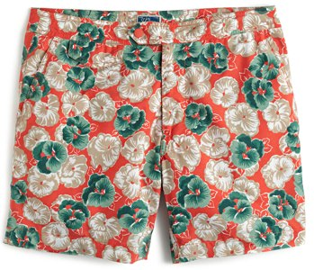 J.Crew Square-Cut Men's Swimsuits