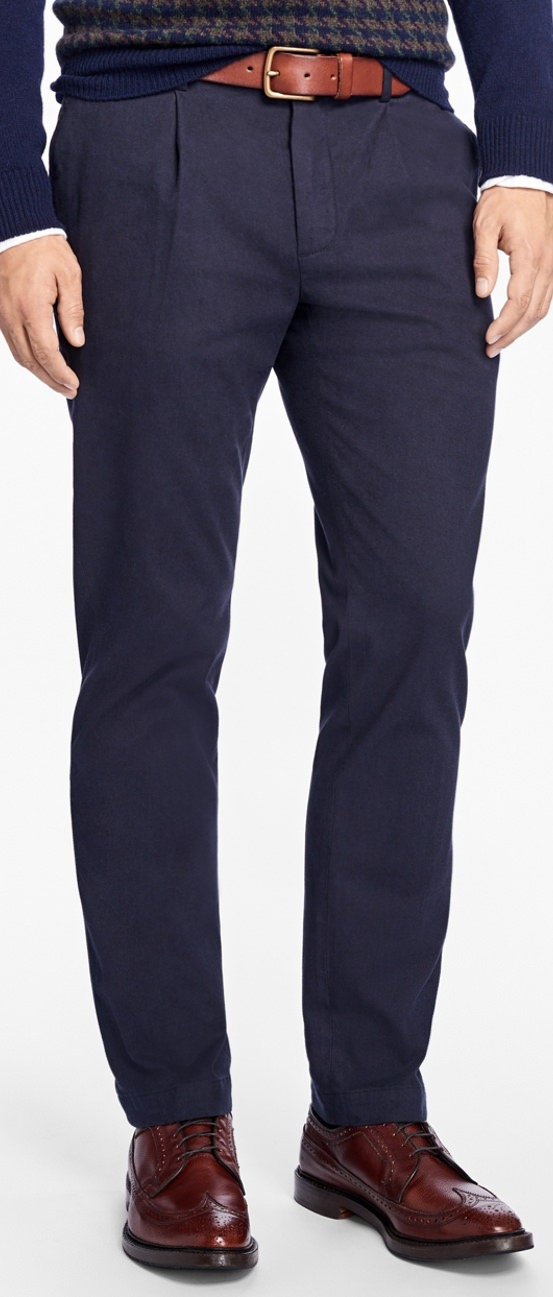 Brooks Brothers Flannel Trousers