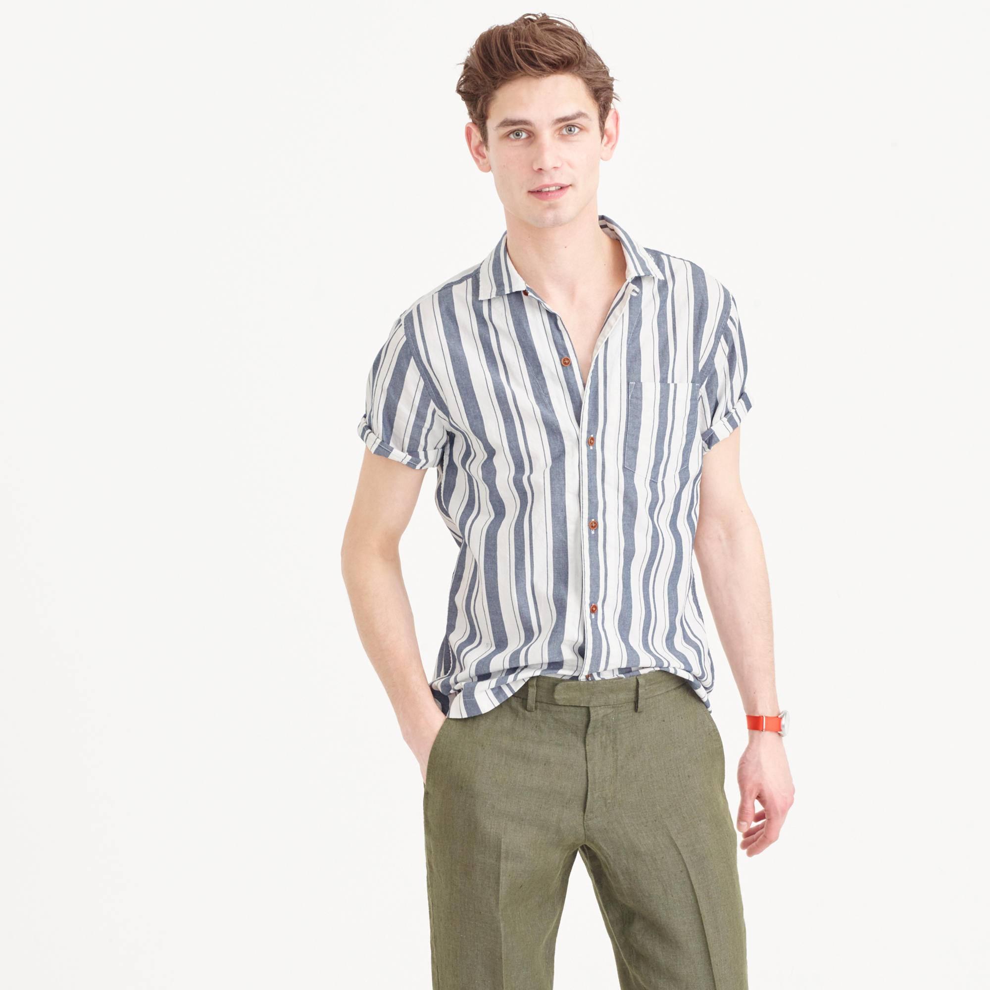 Spring buying planner best men 39 s short sleeve camp collar for Mens short sleeve camp shirts