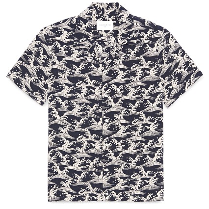 Sandro Camp Collar Shirt