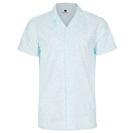 Topman Camp Collar Shirt