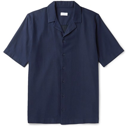 Sunspel Camp Collar Shirt