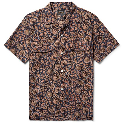 Beams Plus Camp Collar Shirt