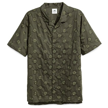 H&M Camp Collar Shirt