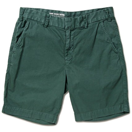 Save Khaki Printed Men's Shorts
