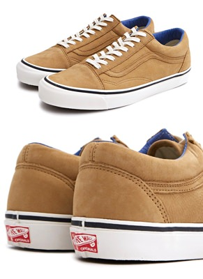Vault by Vans Nubuck OG Gold School LX