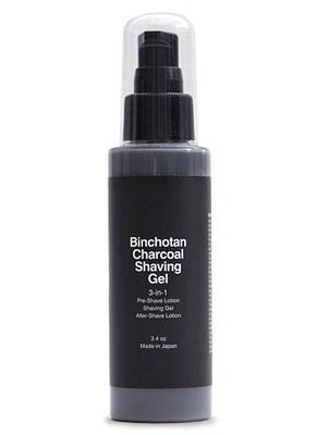 Morihata Charcoal Shave Gel
