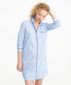 J.Crew Cotton Nightshirt