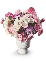 UrbanStems Pink Champagne roses bouquet