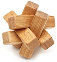 Cool Material Oak Wood Puzzle