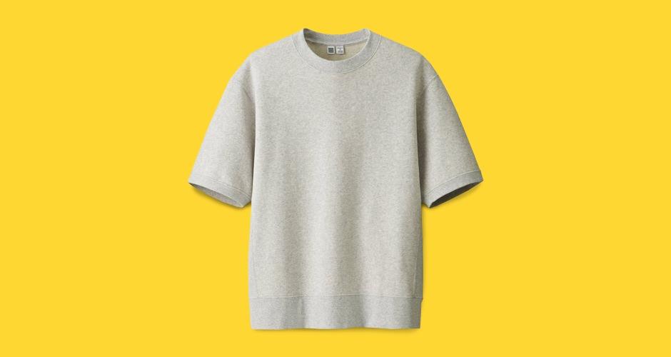 Uniqlo U Short-Sleeve Sweatshirt