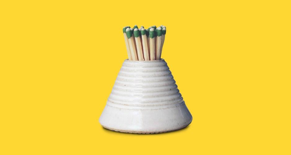 Farmhouse Pottery Match Striker