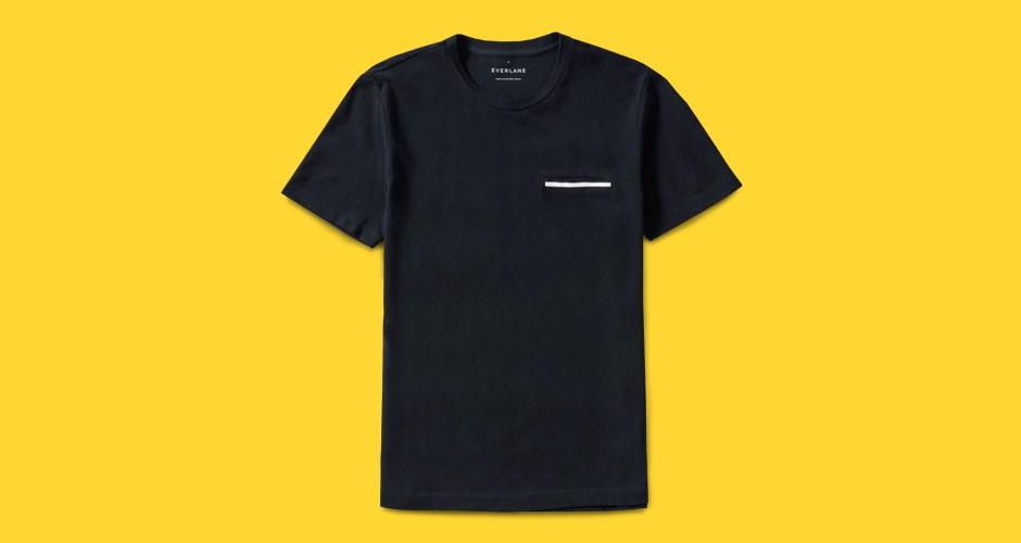 Everlane Pique Pocket T-Shirt
