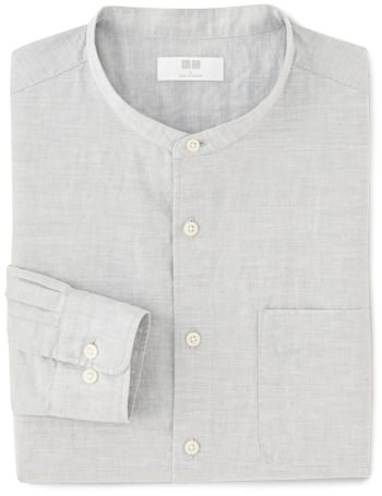 Uniqlo Band Collar Shirt