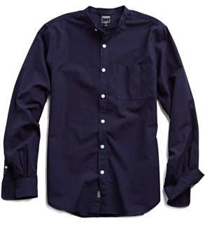 Todd Snyder Band Collar Shirt