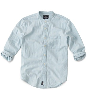Abercrombie & Fitch Band Collar Shirt