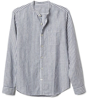 Gap Band Collar Shirt