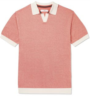 Mr P. Knit Cotton Polo