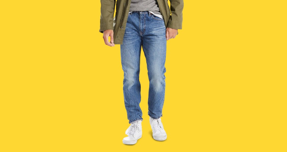 Levis 502 Tapered Fit With Warp Stretch Jeans