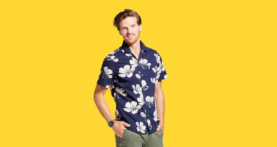 Target Goodfellow & Co. Camp Collar Shirt