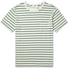 Mollusk Striped T-Shirt
